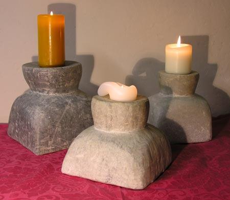 Kerzenständer aus Marmor, Wolfgang Classen